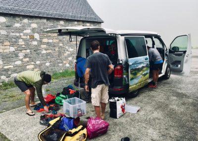 voyage en van dans les Pyrénées