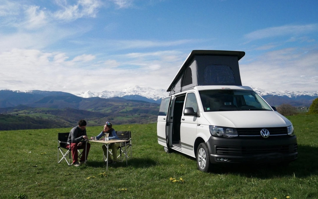 Best of Pyrénées en van