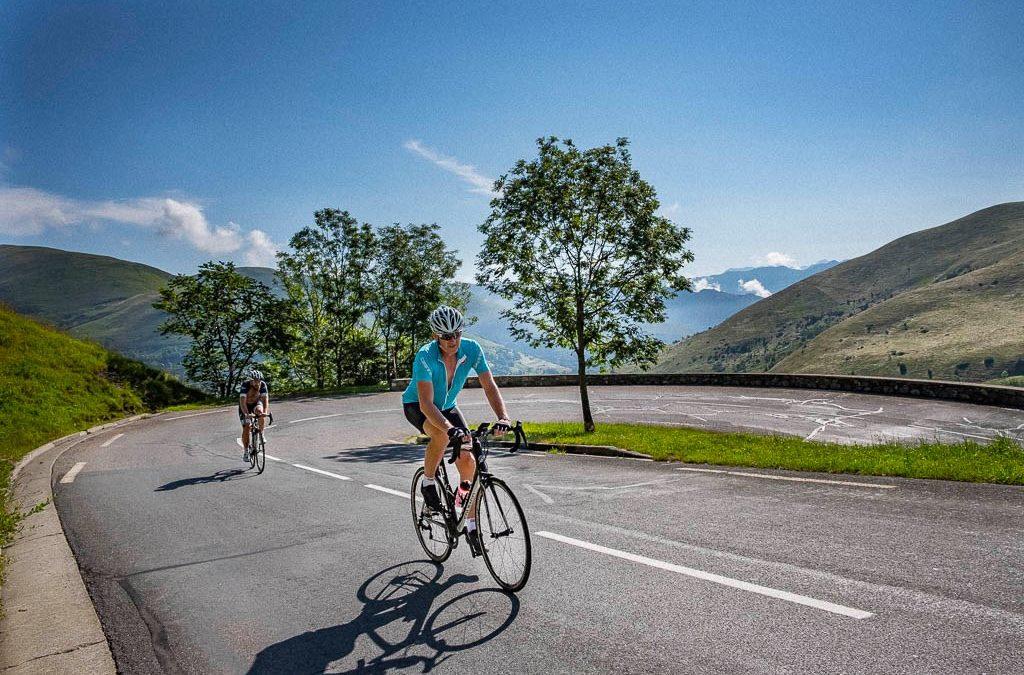 Road book cols des Pyrénées à vélo et en van
