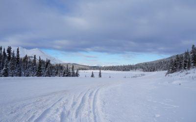 Voyage en van jusqu'en Alaska